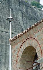 Kim thu sét gắn tại tu viện Nicholas Anapausas